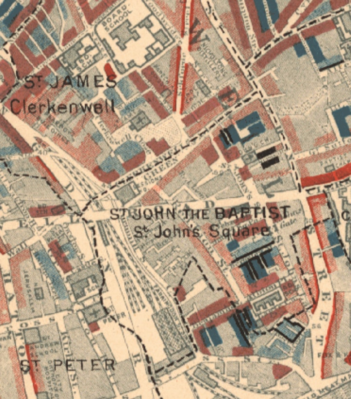 Walking Tour - Charles Booth's Victorian Clerkenwell image