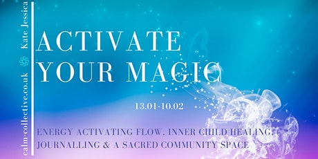 Activate Your Magic: 5-week  journey tickets