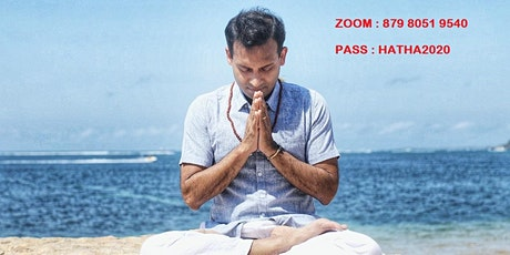 ZOOM YOGA at 1130 AM - Hatha Flow by Anand - Yoga for Charity tickets