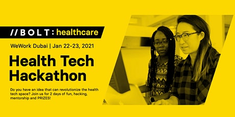 BOLT Healthtech Hackathon tickets