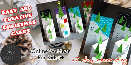 HAPPY Craft Workshop - Online Webinar for Children 5+ tickets