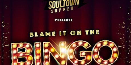 Blame it on the BINGO tickets