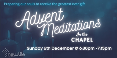 Advent Meditation In The Chapel tickets