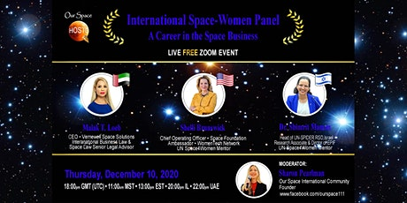 International Space Women Panel - A Career in the Space Business tickets