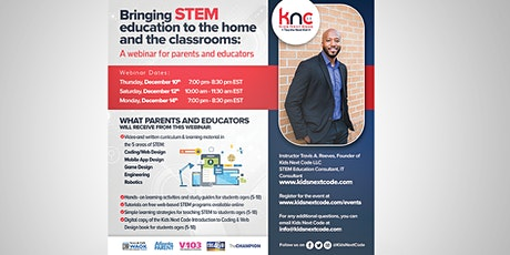 Bringing STEM education to the home and classrooms for parents & educators tickets