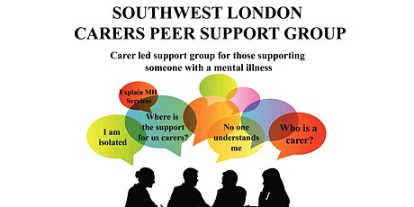 Southwest London MH carers peer support group tickets
