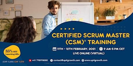 Certified Scrum Master (CSM®) training [Online] tickets