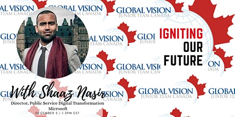 Igniting Our Future - Conversation with Shaaz Nasir tickets