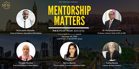 Mentorship Matters: MAXimize Your Success tickets