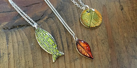 Silver Clay & Alcohol Inks with Grainne Reynolds tickets