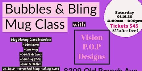Bubbles & Bling Mug Class tickets