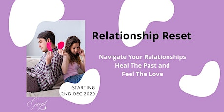 FREE RELATIONSHIPS MASTERCLASS - Tuesday 1st Dec tickets
