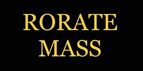 Rorate Mass tickets