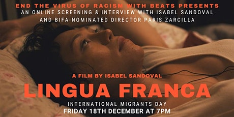 LINGUA FRANCA: An Online Screening and Interview with Isabel Sandoval tickets