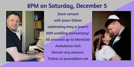 Zoom Benefit Concert - Montclair Ambulance Unit tickets