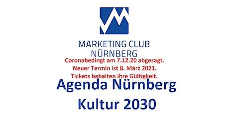 Nürnberg Kultur 2030 Tickets