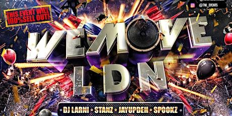 We Move Ldn tickets