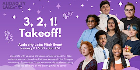 3-2-1, Takeoff! : Audacity Labs Virtual Pitch Event tickets