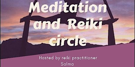 Meditation and Reiki circle tickets