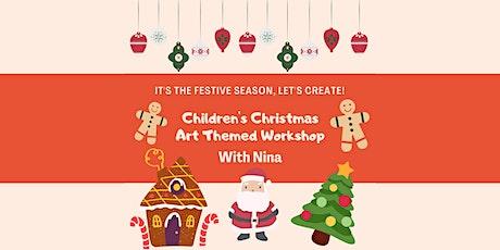 Children's Christmas Art Themed Workshop tickets