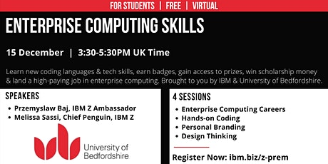 Enterprise Computing Skills: University of Bedfordshire tickets