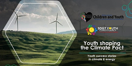 Youth shaping the Climate Pact: youth success stories in climate & energy tickets