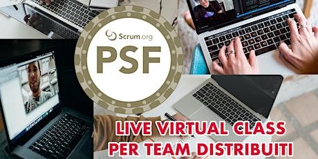 Professional Scrum Foundations - Scrum.org - Live Virtual Class biglietti