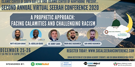 2nd Annual Joint Seerah Conference (ICSB-LA & ICH) tickets