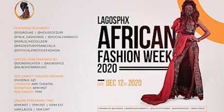 LagosPHX African Fashion Week tickets