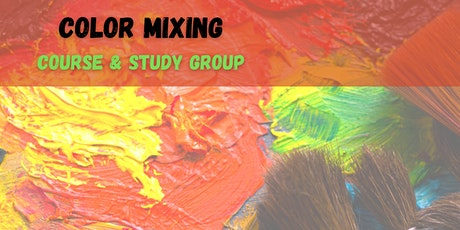 Color Mixing 101 (Virtual Study Group) One Month tickets