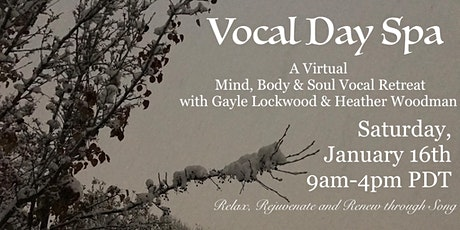 Vocal Day Spa tickets
