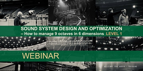 Sound System Design And Optimization  LEVEL 1 (English) tickets