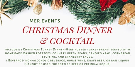 Christmas Dinner and Cocktail tickets