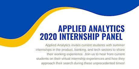 APAN 2020 Internship Panel tickets