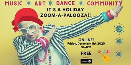 Creative Aging - Holiday Zoomapalooza tickets