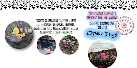 Open Day - Malacatù Ambiente Educativo 3/10 anni biglietti