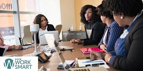 AAUW Work Smart Salary Negotiation Workshop for HBCU Alumni tickets