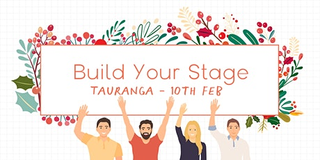 Build Your Stage - Personal Brand Building for Your Business - Tauranga tickets