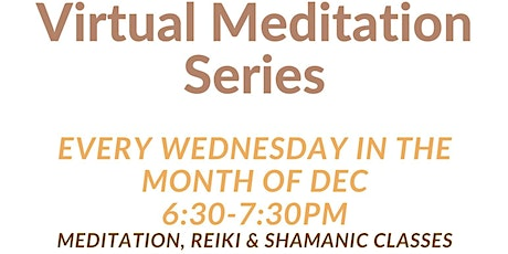 Reiki Meditation, Shamanic Reiki and Support Group tickets