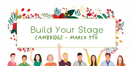 Build Your Stage - Personal Brand Building for Your Business - Cambridge tickets