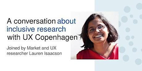Conversations with UX Copenhagen 7: Beant Kaur tickets