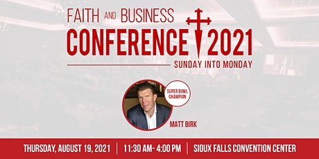 Faith & Business Conference 2021 tickets