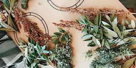 Virtual Wreath Making Workshop with Laurel Botanicals tickets
