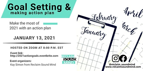 Goal Setting and Making your 2021 Action Plan tickets