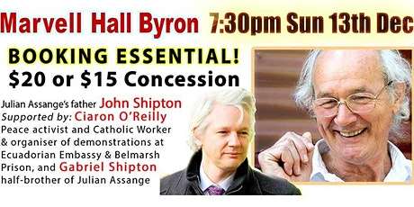 Julian Assange. No Extradition. Bring Julian home! tickets