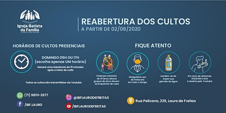 CULTO PRESENCIAL MANHÃ - IBFLAURO billets