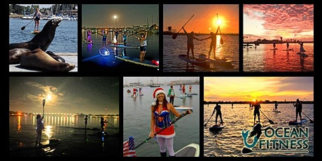 CHRISTMAS FULL MOON Paddleboard Adventure Tour! tickets