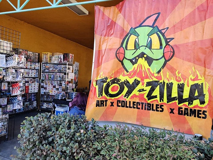 MAY TOYZILLA SWAP MEET #13 Collectibles - Toys -  Comics FREE EVENT! image