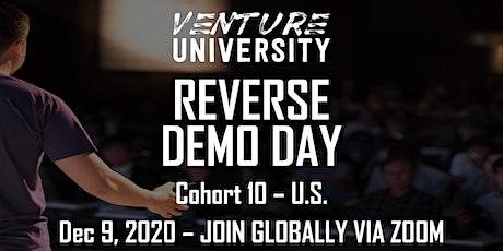 Venture University - REVERSE DEMO DAY - Cohort 10 tickets