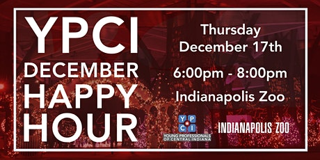 YPCI: December Happy Hour, Christmas at the Zoo tickets